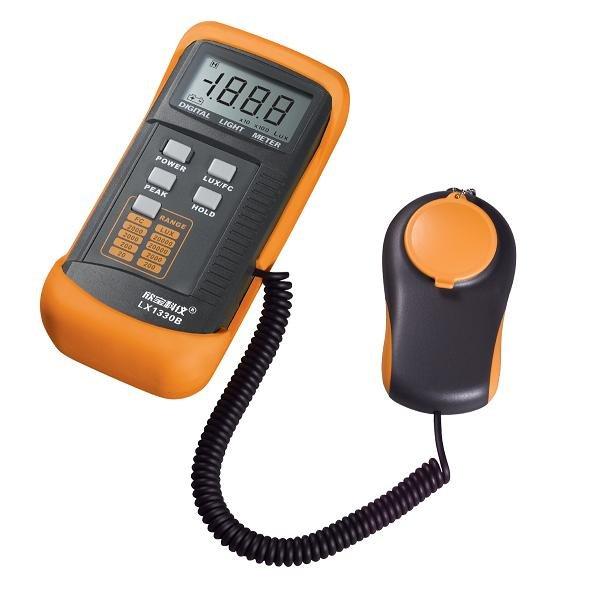 DIGITAL LUX METER LX1330B,Digital Illuminance/Light Meter LX1330B,0-200,000 Lux Luxmeter+DHL/FedEx cheap&fast shipping
