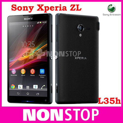 L35 Original samrtphone Sony Xperia ZL C6503 C6506 L35h 13MP WIFI GPS 3G&4G Jelly Bean android 4.1 Unlocked Mobile Phone(China (Mainland))