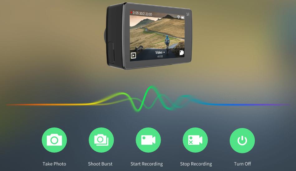 Original Xiaomi Xiaoyi YI 4K+ Action Camera (5)