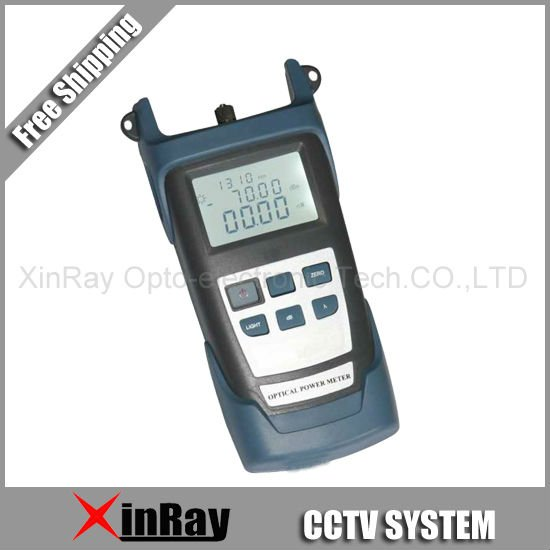 Free Shipping* 1 pc of Handheld Optical Power Meter XR3200B -50~+26dB Used in CCTV& digital system of communication devices(China (Mainland))