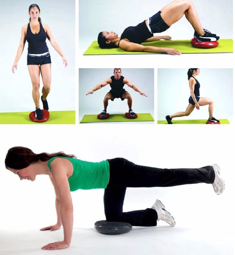 Acheter Yoga Gonflable Universel Durable Wobble Stabilité Balance ... 048338a11bf