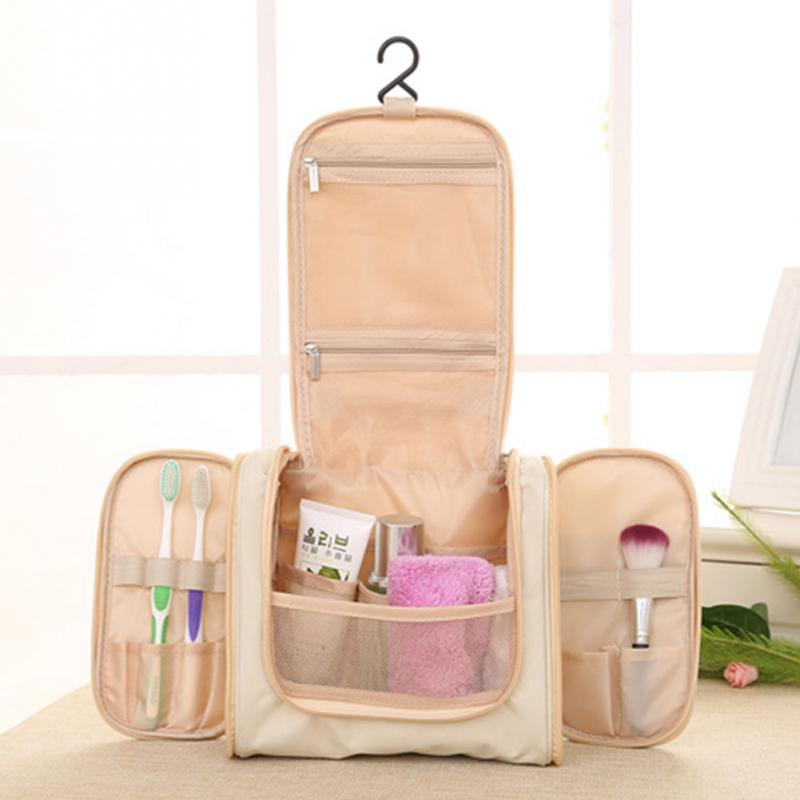 High Quality Outdoor Traveling Makeups Toiletries Storage Bag Hanging Hook Type Cosmetics Bag Waterproof Toiletries Storage Bag(China (Mainland))