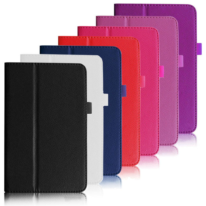 """Гаджет  New Folding Folio Leather Stand Case Cover For ASUS MeMO Pad HD 7"""" ME173X Just for you None Компьютер & сеть"""