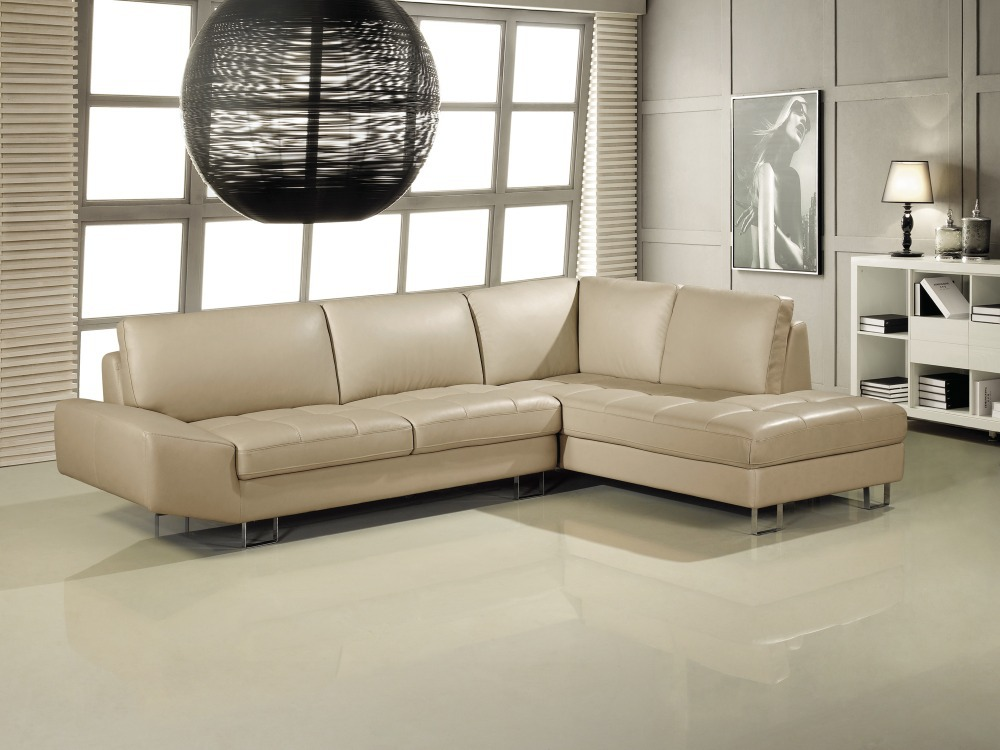 Elegant And Rational Leather Sofa Livingroom Sofa Sectional Wholesale And R