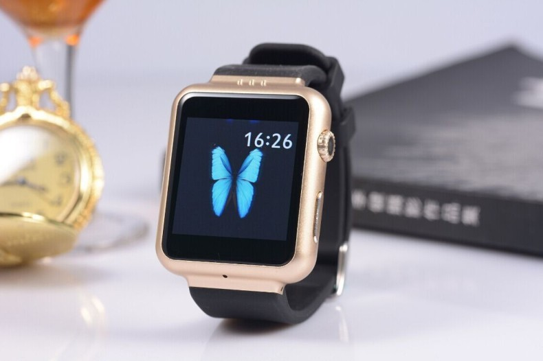 Free DHL Smart Watch Phone K8 Android 4.4 OS with SIM slot 2MP Camera Wifi GPS FM for Samsung LG Xiaomi Android Smartphones