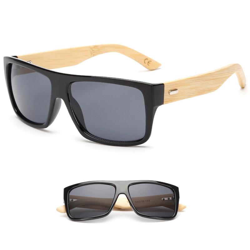 New classic eyewear fashion sunglasses hand made make bamboo Style Glasses Men &Women explosion models sunglasses oculos de sol(China (Mainland))