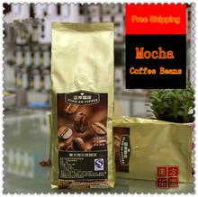 454g 100% Of The Original Organic Coffee Bean Mocha Freshly Baked Mocha Coffee Beans Slimming Coffee Free Shipping