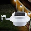 LED Solar Light Outdoor Solar Power 3 Led Bulds High Brightness Waterproof Garden Fence Yard Wall