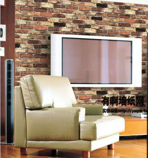 Buy chinese style red brick wall for Living room quilt