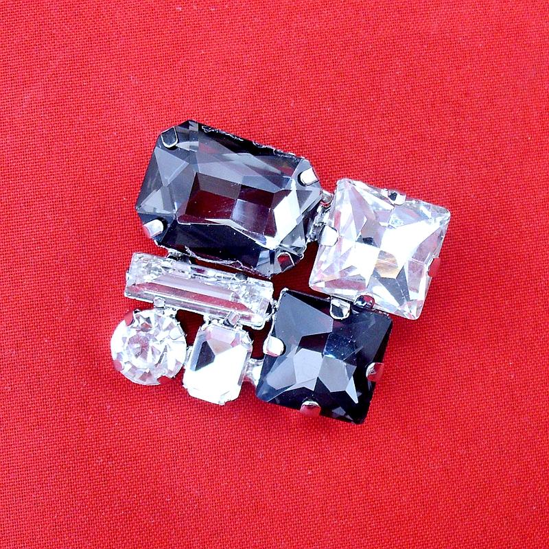 1 piece Gray Shining Crystal Glass Shoe Decoration Wedding Jewelry Nice Spark Pin Brooch, Item No.: JP003(China (Mainland))