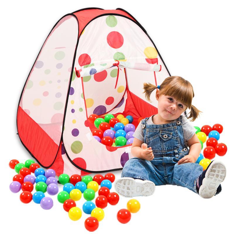 portable enfants enfants jouent tentes pliantes int rieur et d 39 ext rieur jardin jouet tente. Black Bedroom Furniture Sets. Home Design Ideas