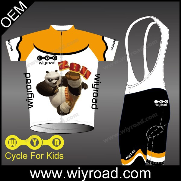 Accept sample order boys cycling wear/kids bike wear cycling jerseys/kids cycling clothing(China (Mainland))