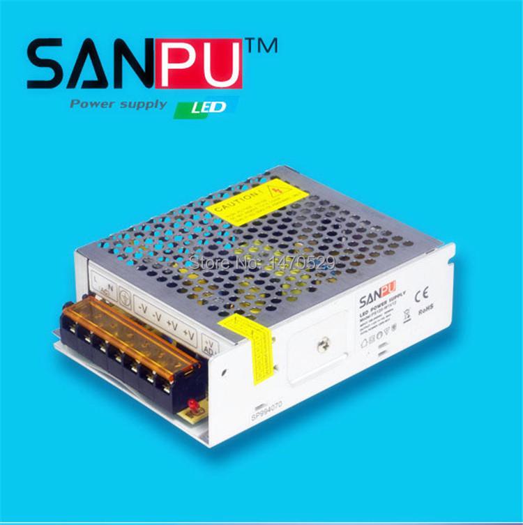 Импульсный блок питания SANPU 5v 100w 20amp 110v ac/dc PS100-W1V5 блок питания 4parts lac hp03 hp 18 5v 6 5a 7 4x5 0mm 120w