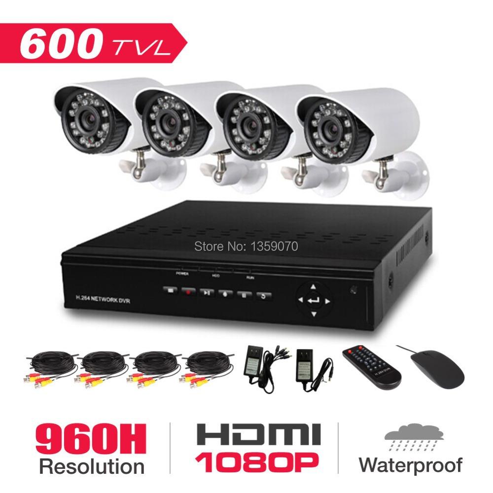 Система видеонаблюдения 4/dvr full