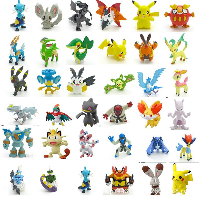 1000 pcs/lot Pokemon PVC Action Figure Toy TOMY ORIGINAL clearance sales wholesale(China (Mainland))