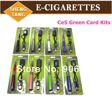 Wholesale 50 pieces/lot  Free DHL Shipping Ce5 Ego-T Electronic Cigarette E-Cigarettes Blister Packing Kits Battery   in Stock