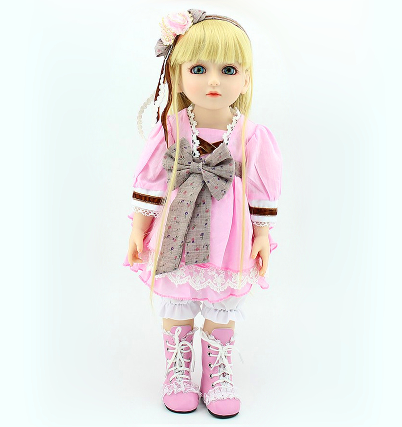 2015 High quality 18 inches fashion vinyl BJD doll with beautiful clothes as girl gift<br><br>Aliexpress