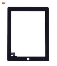 DHL! Touch Screen Glass Digitizer Replacement+ Adhesive Glue Tape 3M with Home Button for iPad 2 with tools Black&white(China (Mainland))