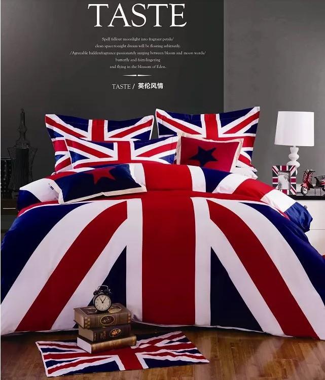 Achetez en gros anglais lit draps en ligne des for Housse de couette en anglais