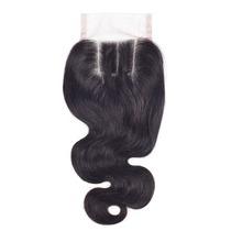 TOP 7A Virgin Peruvian Lace Closure Body Wave 3 Part Closure Human Hair Closure Peruvian Body Wave Lace Closure Bleached Knots