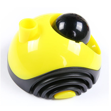 Yellow Paper Clip Holder (Dispenser) and Pen(Stylo) Holder with logo roll magnetic ball to get clips 120 pcs/lot(China (Mainland))