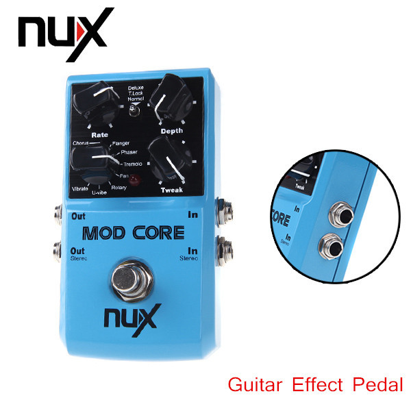 NUX MOD Core Guitar Pedal 8 Modulation Effects Preset Tone Lock High Quality Guitar Effect Pedal Guitar Parts & Accessories(China (Mainland))