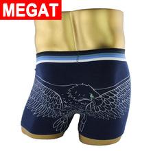 2016 leopard eagle Tiger cotton underwear men sexy mens underwear boxers cartoon cotton boxer shorts print men underpants Megat(China (Mainland))