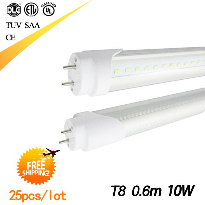 G13 2ft T8 Led Tube T8 600mm 10Watt AC85-265V SMD2835(China (Mainland))