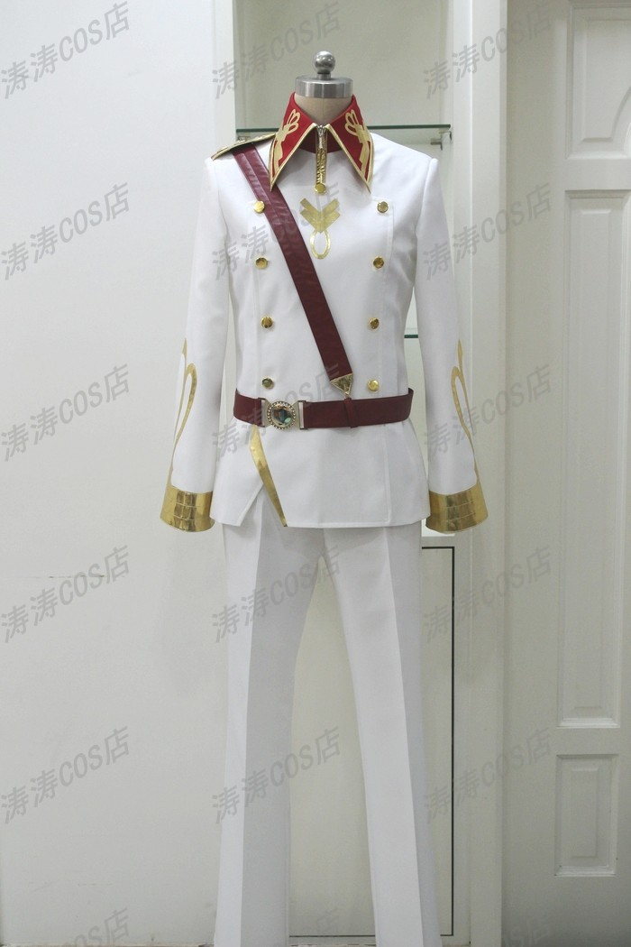 FREE SHIPPING Kakumeiki Valvrave Al Alf Dole was runner up spy Cosplay clothing Jacket, pants, belt, straps(China (Mainland))