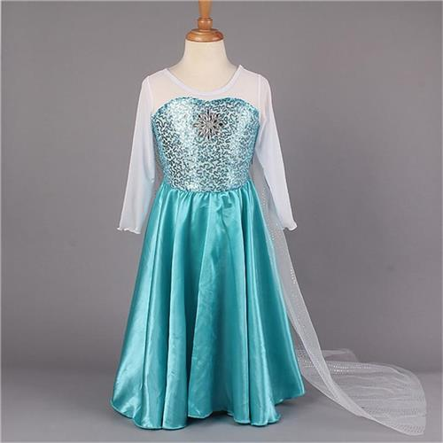 Lolita Style Flower Party Dresses Anna Princess Floor Length Girl dresses Baby Girl Beautiful Discount Dress YA001