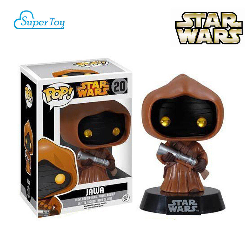 2015 NEW FUNKO POP Star Wars Action Toy Figures Jawa Doll POP FUNKO Vinyl figures Collection Toys kids toys<br><br>Aliexpress