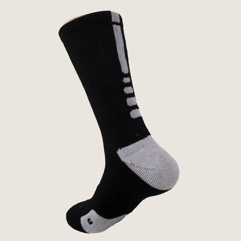 High Quality Pro-fit Basketball Socks High Elastic Breathable Cotton Sports Sock Racing Socks Cycling Socks(China (Mainland))