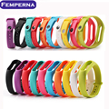 In stock 1000pcs Colorful Silicone Replace Belt Strap For Xiaomi Mi Smart Wristband MiBand Bracelet Replacement Band Accessories
