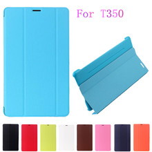 1:1 Business Smart Pu Leather Book Cover stand Case For Samsung Galaxy Tab A 8.0 T350 T351 T355