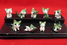 Free Shipping 9 pcs/lot Cartoon Chi's Sweet Home Cute Cat Action & Toy Figures Animal P2