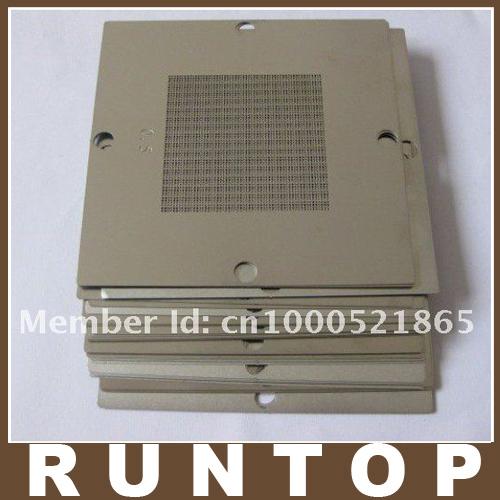 Freeshipping 90 x 90 mm Bga Stencil Kit for Laptop Via Chip Reballing 20pcs/set(China (Mainland))