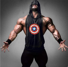 Buy Captain America Gyms clothing Bodybuilding Fitness Men Tank Top hoodies Golds Animal Vest Stringer Sporting Shark Shirts for $5.99 in AliExpress store