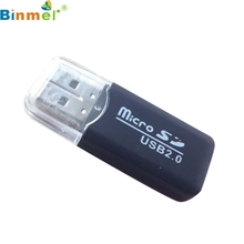Buy USB 2.0 Micro SD SDHC TF Flash Memory Card Reader Mini Adapter For Laptop Drop Shipping LJJ1227 for $1.16 in AliExpress store