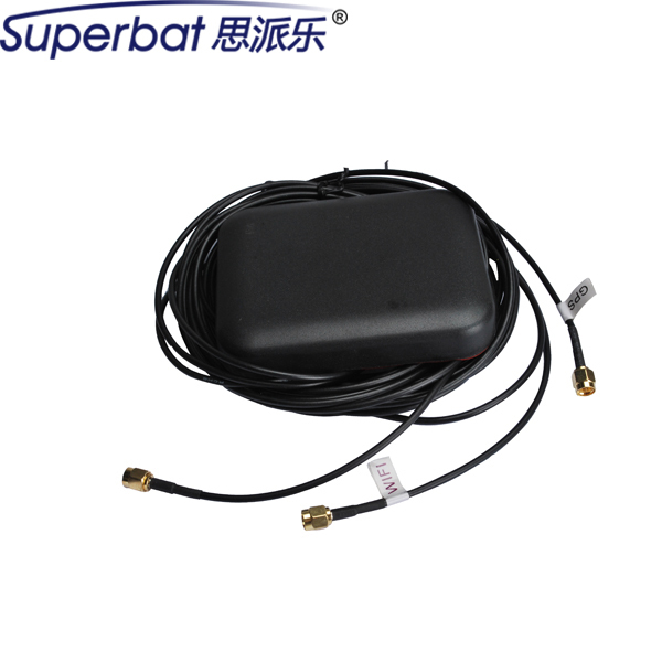 Highly Recommend Brand New Multi-band GPS Wifi Iridium Antenna Aerial Signal Booster with SMA Plug Connectors 107X86X17.5mm NEW(China (Mainland))