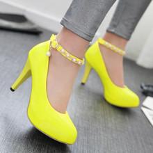Buy Women High Heel Shoes Platform Pumps Woman High Heels Party Wedding Shoes Ladies Kitten Heels Plus Size 34 40 41 42 43 for $23.96 in AliExpress store