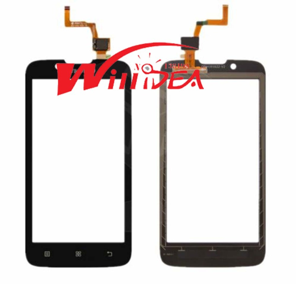 "4.5"" Original Mobile Phone Touch Screen Sensor Digitizer Glass Panel For Lenovo A328 Top Touchscreen Highscreen Free shipping"