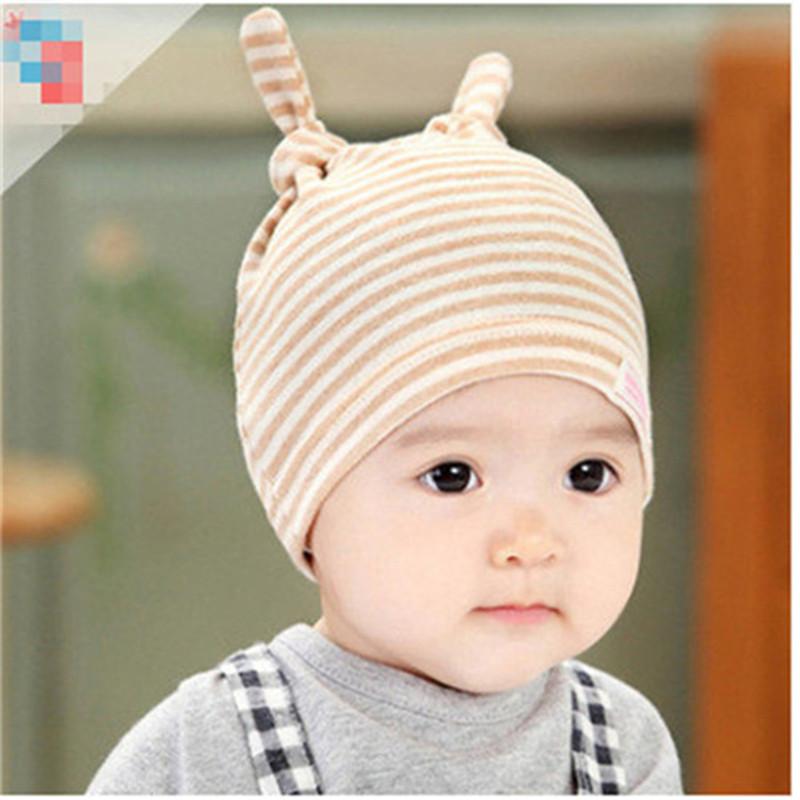 2016 new baby hat newborn sleeping baby hat cute cotton hedging spring hat baby hat bonnet C-XBK-MZ001(China (Mainland))