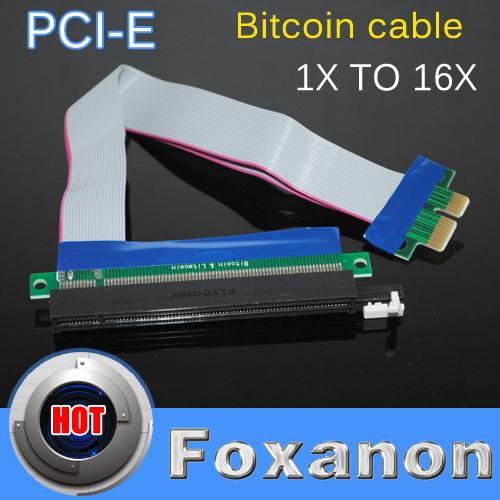 Фото Потребительские товары Foxanon 19 PCI Express PCI/e 1 x 16 x /molex FOX10 pci e to