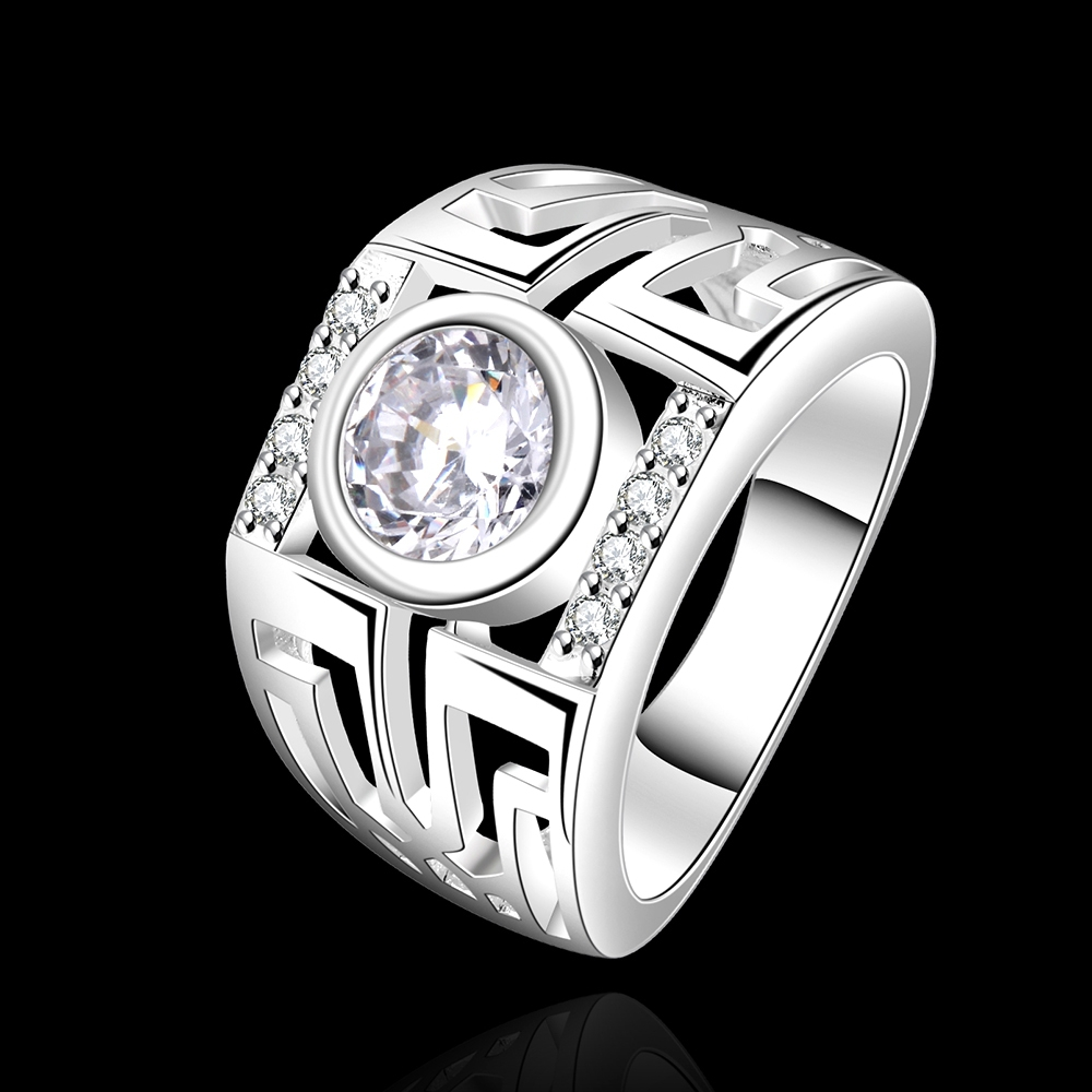sale free shipping 925 silver ring fashion sterling