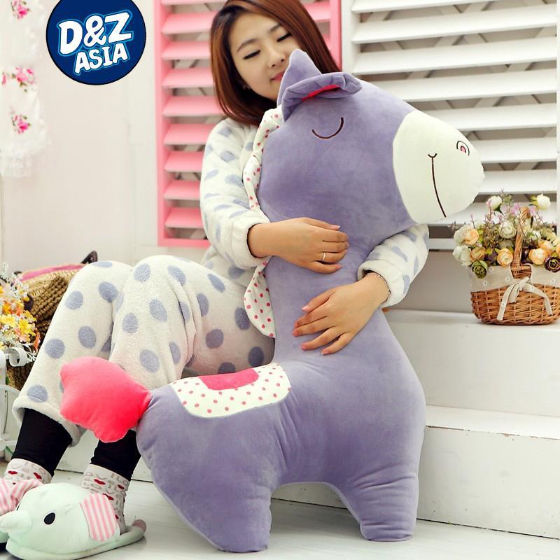 God beast lovely plush horse holdpillow cushion100cm giant stuffed animals Stuffed plush baby bed dolls(China (Mainland))