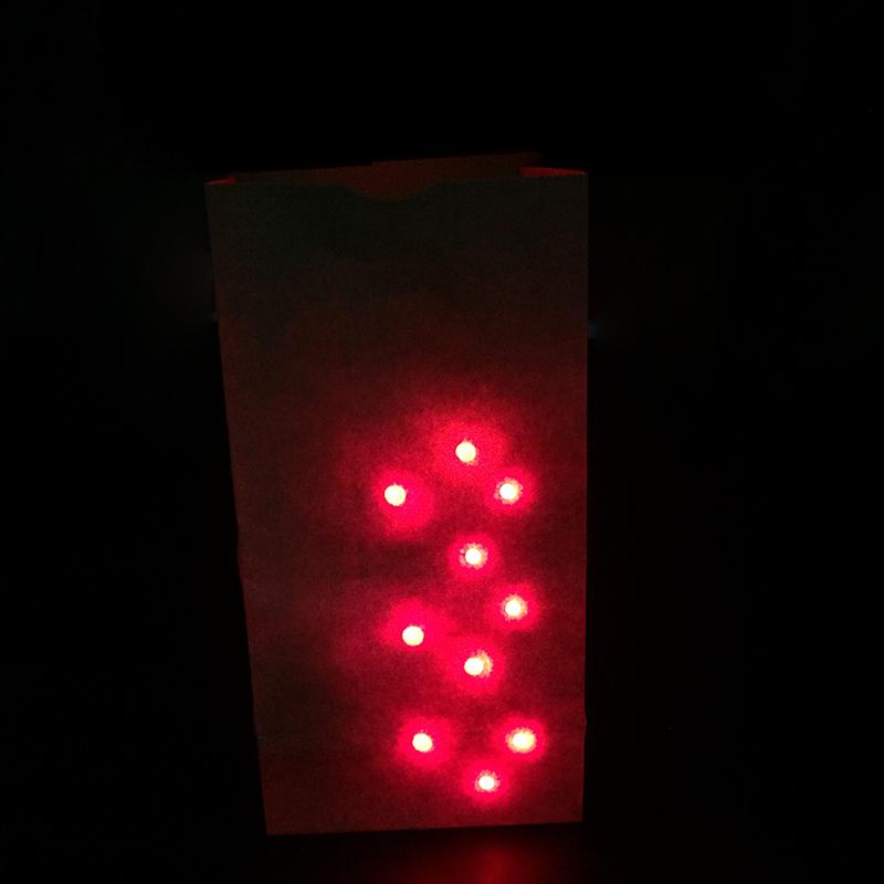 Bag O Lites light up include finger light magic tricks 1set/lot for close up magic toy mentalism bar show illusion tour magie(China (Mainland))