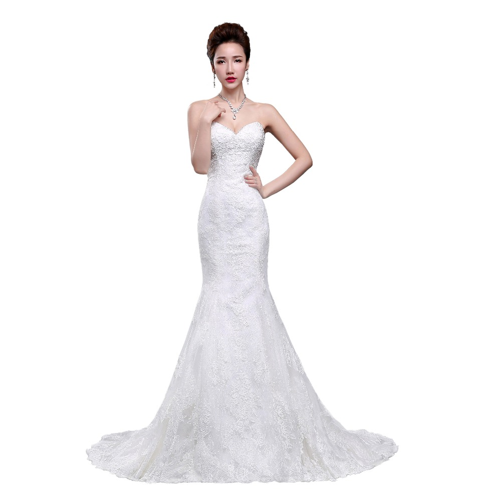 Unique Lace Wedding Dresses : Lace wedding gowns back zipper unique dresses floor g