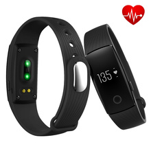 2016 cicret smart bracelet id107 bluetooth smart watch Heart Rate Monitor Wristband Fitness Tracker PK Mi Band for IOS Android