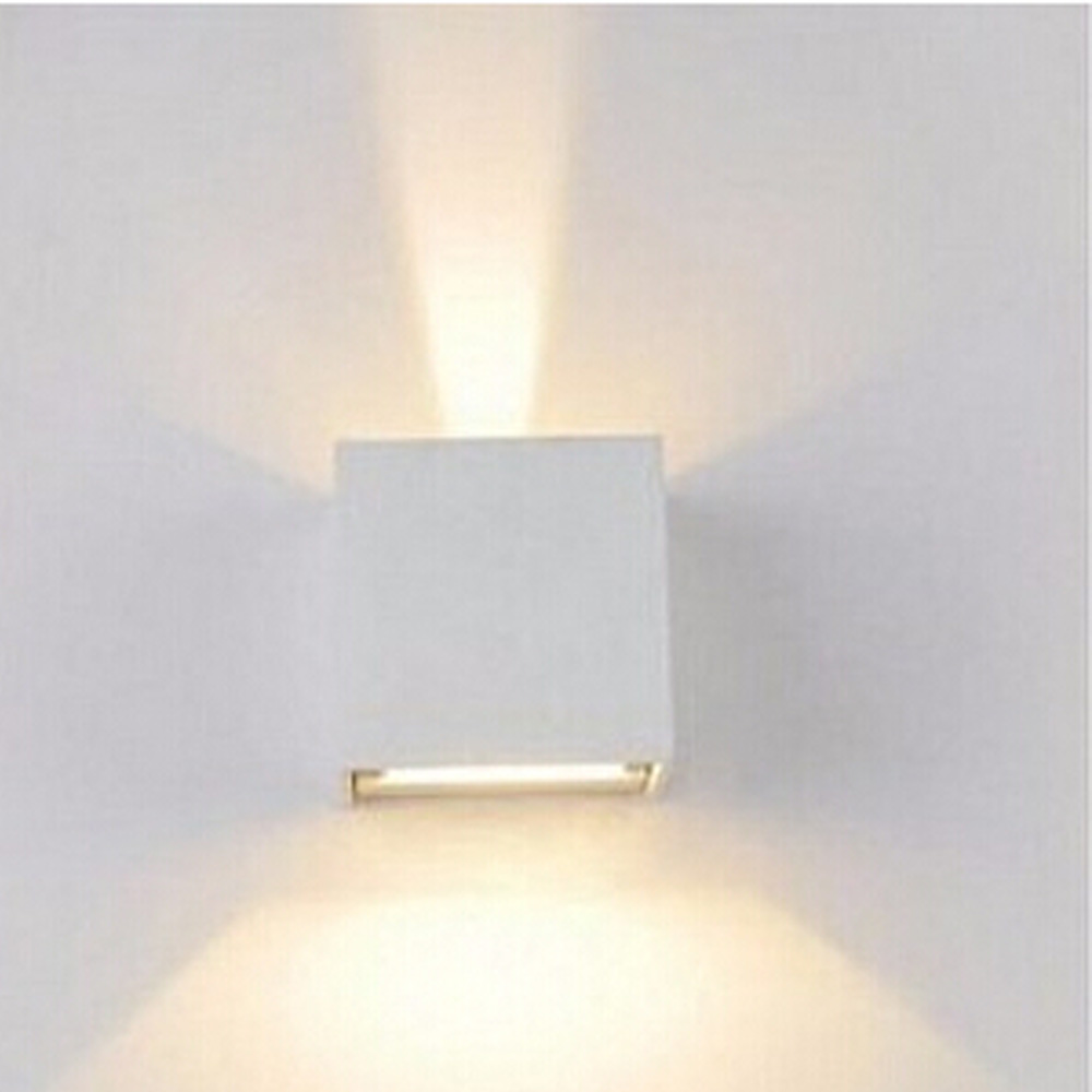 Wall Lamps White : Aluminum Water Proof Led outdoor wall lamp ,Adjustable Surface Outdoor Cube Led wall light,White ...