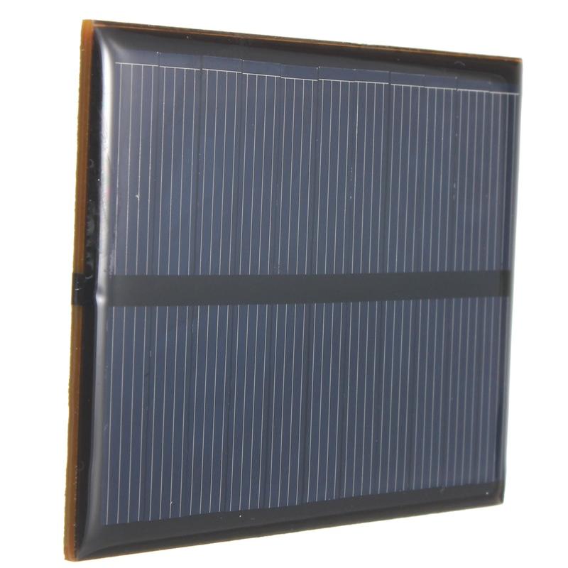 New Hot 5.5V 0.66W 120mAh DIY Monocrystalline Silicon Solar Panel Module Mini Solar Cells Battery Phone Charger(China (Mainland))